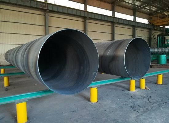 河池石化工业用螺旋钢管